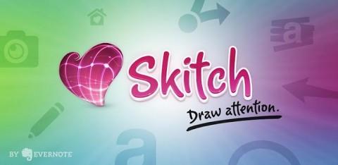 Skitch: Dessinez facilement sur vos photos !