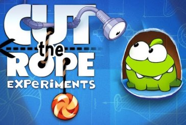 Cut the Rope: Experiments, la suite sur Android !