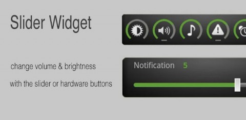 Slider Widget: Prenez le contrôle du volume sur votre Android