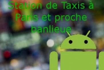 Taxi: Les Stations à Paris et en Banlieue!