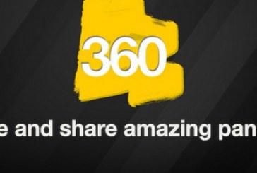 360: Créer et partager des panoramas incroyables!