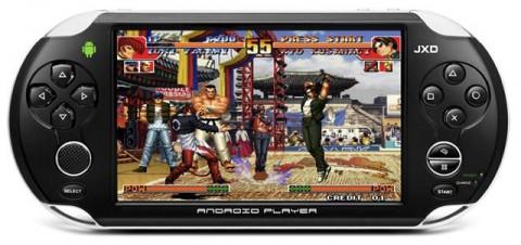 La JXD S5110: une console portable sous Android ?