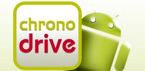 Chrono Drive: Faites vos courses depuis votre Android