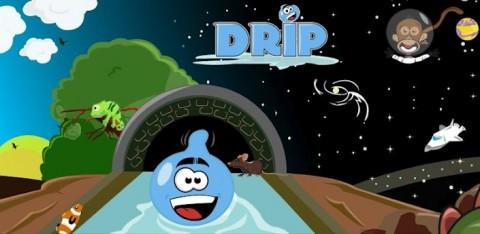 Drip: Prenez le contrôle d'une goutte d'eau