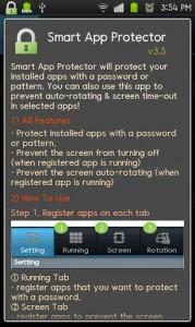 Smart App Protector b