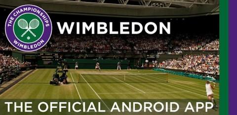 L'application officielle de Wimbledon est sur Android