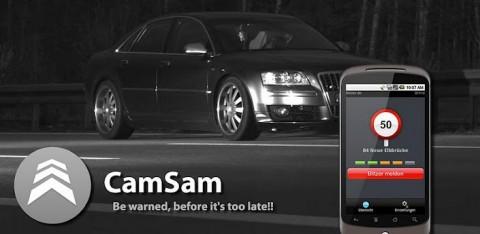 CamSam: Un avertisseur de radars