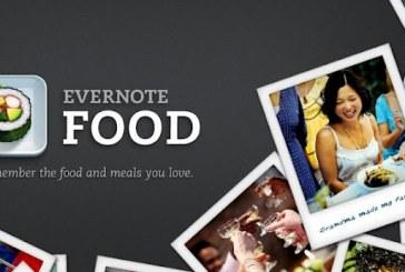 Evernote Food: Souvenez-vous de ce que vous mangez !