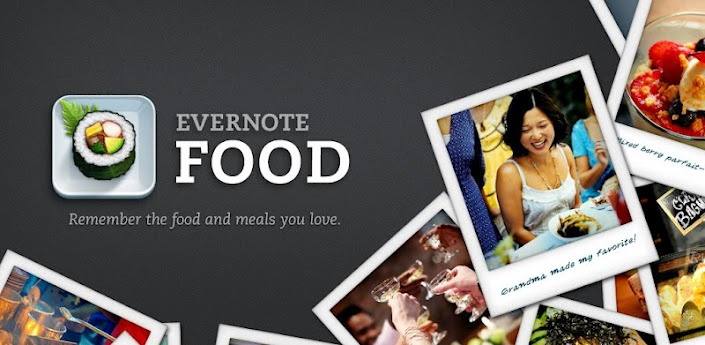 evernote food une
