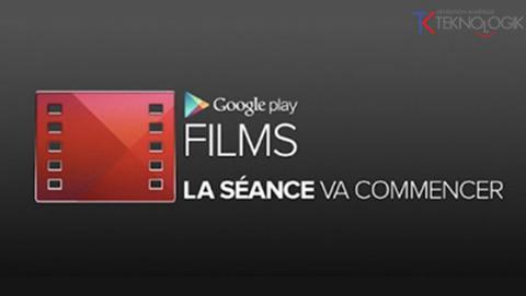 Google Play Films: Louez des films depuis votre Android!