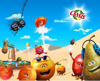 Be Fruit By Oasis: Customisez vos photos!