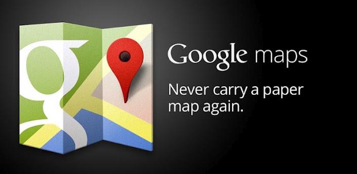 google maps transports une