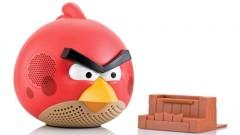 Avis aux geeks: les écouteurs et les enceintes Angry Birds