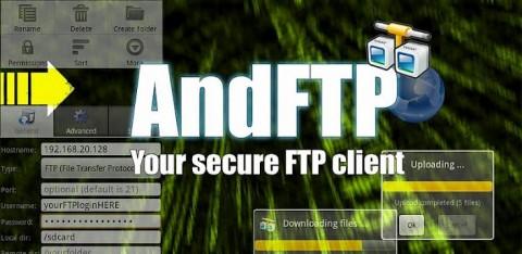 AndFTP: L'un des meilleur client FTP pour Android