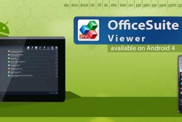 OfficeSuite Viewer 6: Pour lire gratuitement tous les types de documents