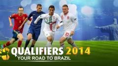 Qualifiers 2014: Sur la route de la Coupe Du Monde au Brésil