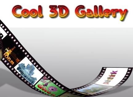 Cool 3D Gallery: Une alternative à votre application Galerie sur Android!