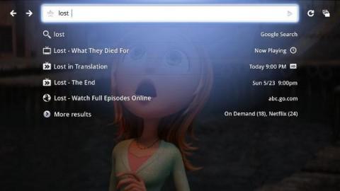 Google TV d