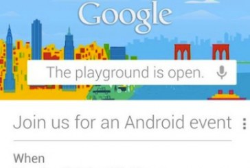 Le programme du Special Event Google : Nexus 10 pouces, Nexus 4 et Android 4.2!