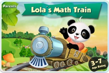 Le train des maths de Lola: De 3 à 7 ans!