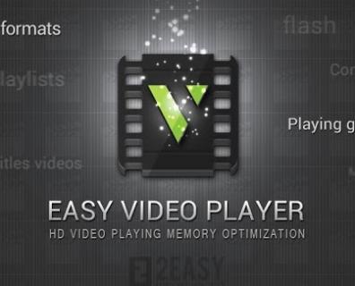 Easy Video Player: Un lecteur vidéo multimédia!