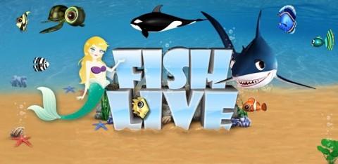 Fish Live: Un véritable aquarium sur son Android