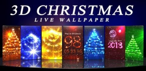 PP de Noël en 3D: Des fonds d'écran superbes pour Noël
