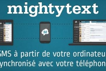 MightyText: Envoyez des SMS depuis un ordinateur