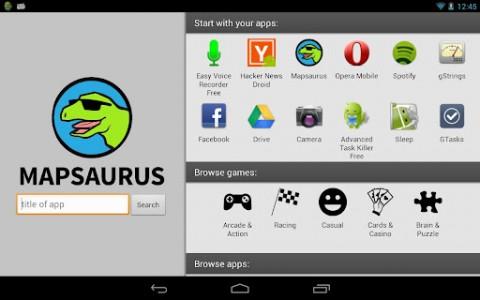 mapsaurus trouvez les meilleures applications android. Black Bedroom Furniture Sets. Home Design Ideas