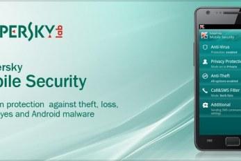 Kaspersky Mobile Security: Protégez votre Android