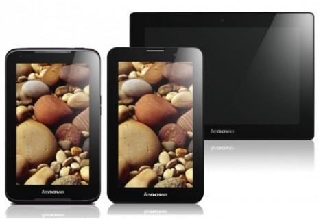 Trois nouvelles tablettes Lenovo au MWC de Barcelone