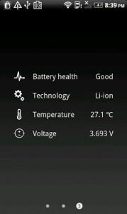 Batterie HD 3