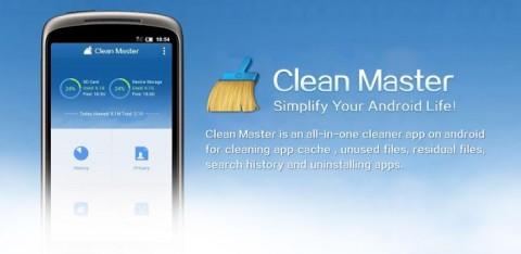 Clean Master: Un peu de ménage !