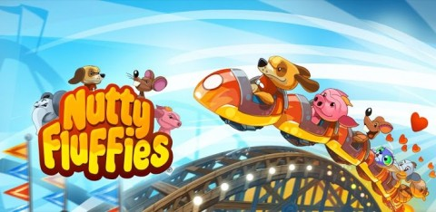 Nutty Fluffies Rollercaster: Les montagnes russes !