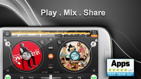 edjing free DJ scratch et mix 1
