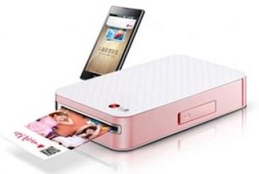 LG Pocket Photo: Une imprimante portable pour Android!