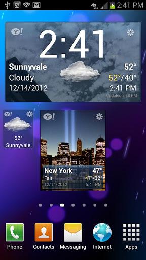 yahoo meteo une des meilleurs app sur android