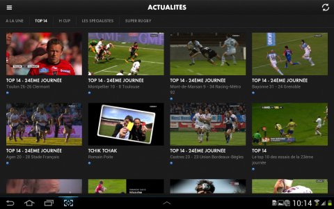CANAL RUGBY APP 2