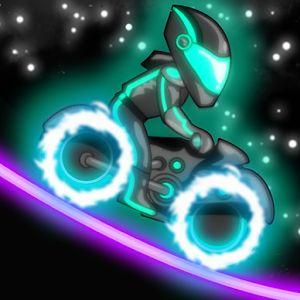 Neon Motocross: Un jeu qui brille