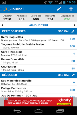Calorie Counter 2