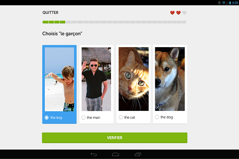 Duolingo Apprenez l'anglais efficacement B