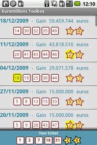 Euromillions Toolbox 1
