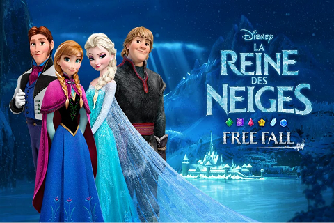 La Reine des Neiges Free Fall C
