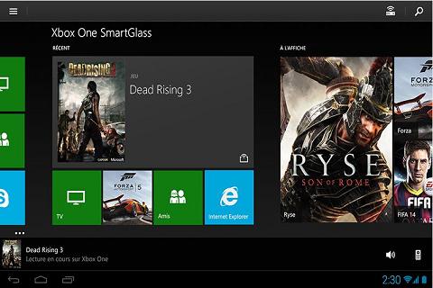 Xbox One Smartglass Le compagnon de votre console 3
