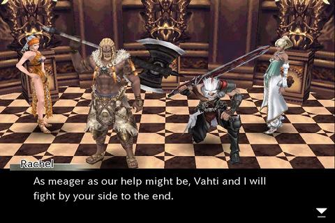 Chaos Ring Alpha le préquel de la série C