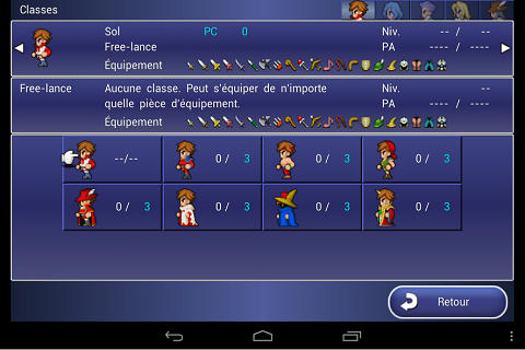 Final Fantasy Dimensions une exclu mobile C