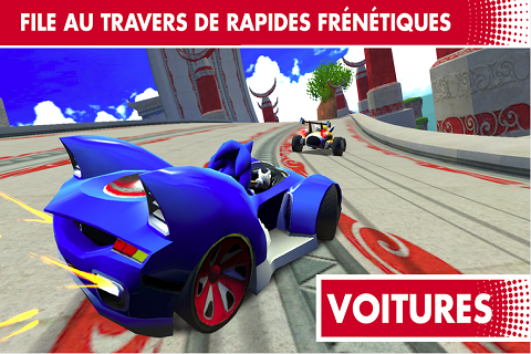 Sonic Racing Transformed aussi sur Android B