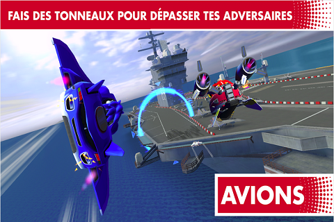 Sonic Racing Transformed aussi sur Android C