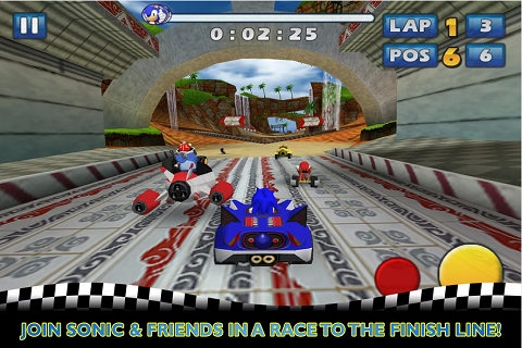Sonic and SEGA All Stars Racing sur Android B