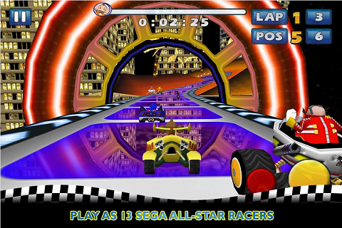 Sonic and SEGA All Stars Racing sur Android C